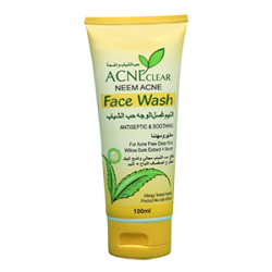 neem acne clear face wash smal